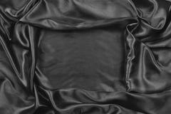 Satin noir photo stock