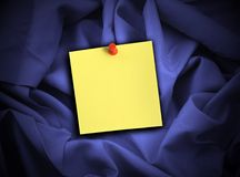 Satin and note Royalty Free Stock Image