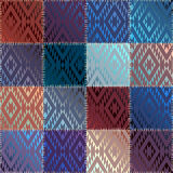 Satin patchwork Royalty Free Stock Photo