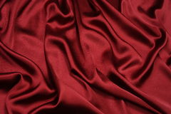 Satin with pearls Stock Images