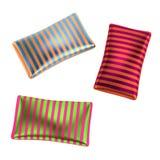 Satin pillows. 3d render of satin pillows Stock Images