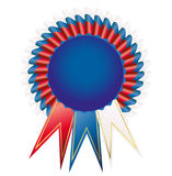 Satin Prize medal Royalty Free Stock Images
