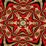 Satin quilt. Abstract fractal image resembling a satin quilt Stock Photography