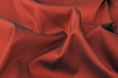 Satin red material Royalty Free Stock Photo