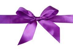 Satin ribbon bow royalty free stock image