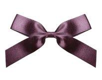 Satin ribbon and bow Stock Image