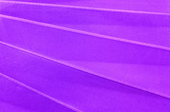 Satin ribbon close up Royalty Free Stock Photos