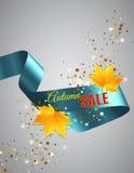 Satin ribbon Stock Images