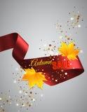Satin ribbon Stock Photo