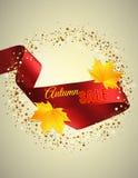 Satin ribbon Stock Image