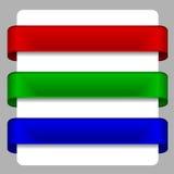 Satin ribbons Stock Photos