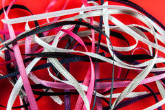 Satin ribbons Royalty Free Stock Photo