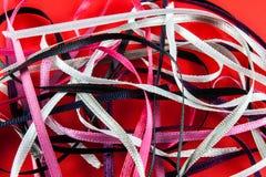 Satin ribbons Royalty Free Stock Photo