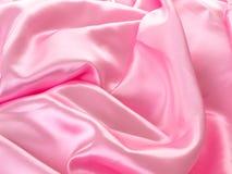 Satin rose Images libres de droits