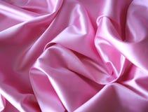 Satin rose Image libre de droits