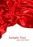 Satin rouge photos stock