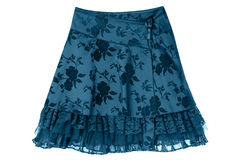 Satin skirt Stock Images