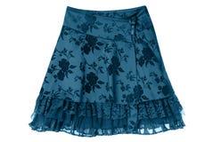 Satin skirt Stock Images
