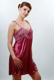 Satin sleepwear Stock Photos