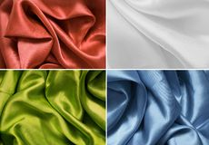 Satin texture. Texture satin, silk background. color Stock Photo