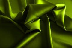 Satin vert photographie stock