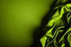 Satin vert photo libre de droits
