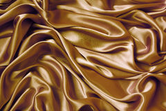 Satin Wave. As background Stock Images