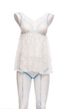 Satin Women's nightgown Royalty Free Stock Photo