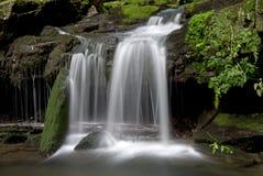 Satina Wasserfälle Stockbild