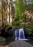 Satina Wasserfälle Lizenzfreies Stockbild
