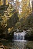 Satina Wasserfälle Lizenzfreies Stockfoto