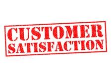 Satisfação do cliente Imagem de Stock Royalty Free