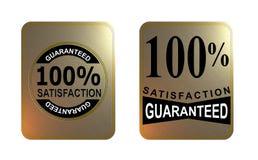 Satisfação garantida Fotos de Stock