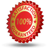 Satisfacción garantizada Fotografía de archivo