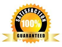 Satisfacción garantizada stock de ilustración