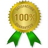 Satisfacción garantizada Fotos de archivo libres de regalías