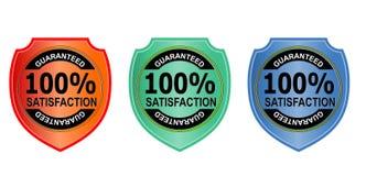 satisfaction 100% garantie Photographie stock