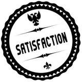 SATISFACTION black stamp. Illustration graphic concept image Stock Photos