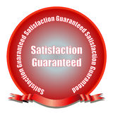 Satisfaction garantie Photos stock