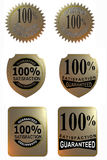 satisfaction garantie par 100 Photos stock