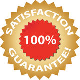 Satisfaction guarantee! Stock Images