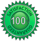Satisfaction guarantee Stock Photo