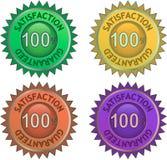 Satisfaction guarantee Stock Image