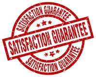 Satisfaction guarantee stamp. Satisfaction guarantee grunge vintage stamp isolated on white background. satisfaction guarantee. sign Vector Illustration