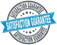 Satisfaction guarantee round grunge stamp Royalty Free Stock Photo