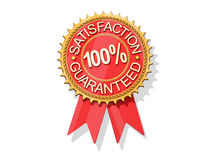 Satisfaction Guaranteed. Icon on a white background vector illustration