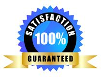 Satisfaction guaranteed Stock Photos