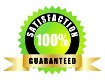 Satisfaction guaranteed Royalty Free Stock Photo