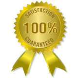 Satisfaction guaranteed Stock Images