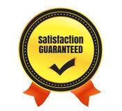 Satisfaction Guaranteed Ecommerce Badge. Modern Satisfaction Guaranteed Vector eCommerce badge Stock Photography